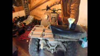 6. STARTING UP THE ARCTIC CAT