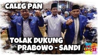 Video Makin Melempem! Banyak Caleg PAN Tolak Dukung Prabowo, Sekjen PAN: Tidak Ada Untungnya untuk PAN! MP3, 3GP, MP4, WEBM, AVI, FLV Oktober 2018