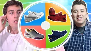 If I lose I have to buy signed ZO2 shoes.....Another one on TDBarrett's Channel: https://goo.gl/QmB971
