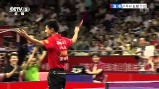 Zhang Jike Amazing Foot Shot - YouTube