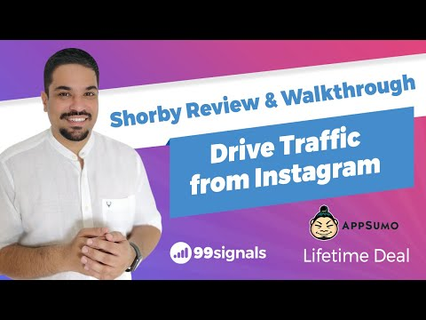 Watch 'Shorby Review & Walkthrough - Supercharge Your Instagram Bio'
