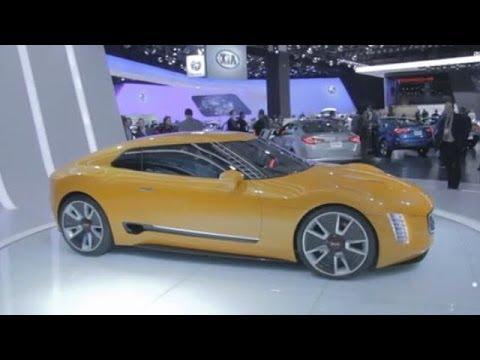 Kia GT4 Stinger Concept Walkaround