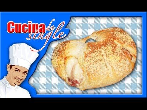 ciambellone di pane goloso - ricetta