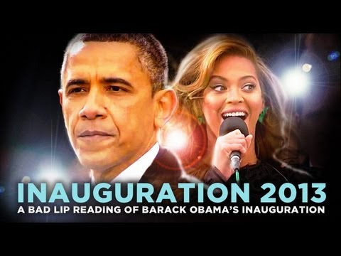 Bad Lip Reading - Barack Obama's 2013 Inauguration 