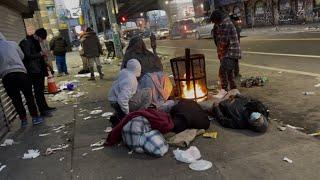 Tak naprawdę wygląda w USA… bród syf i ubóstwo…
