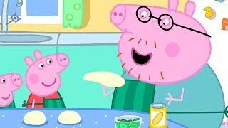 Peppa Pig en Español Episodios completos | Comida | Pepa la cerdita