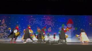 Felices Fiestas Show and performance.