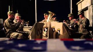 101st Airborne Band in Afghanistan