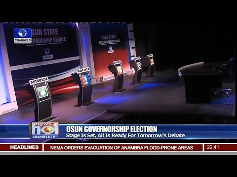 Channels TV Set To Host Osun Governorship Debate