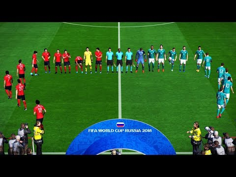 PES | SOUTH KOREA vs GERMANY | FIFA World Cup 2018 | Full Match | Gameplay PC