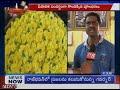 Whole Sale Flower Markets for Diwali In Vijayawada   TV5 News - Video