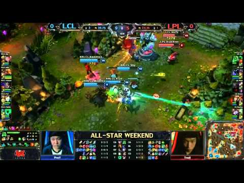 all star - League of Legends final Korean LCL vs chinese LPL▽ FULL games LCS EU 2014: http://bit.ly/1hjgpv1 FULL games LCS NA 2014: http://bit.ly/1fmUfky Live on http:/...