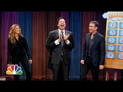 Jimmy Fallon - Jimmy pairs up with Steve Coogan and challenges Sheryl Crow and Damian Lewis to a game of charades. Subscribe NOW to Late Night with Jimmy Fallon: http://ful...