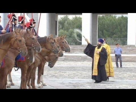 القوزاق الروس يحيون الذكرى ال200 لملحمة بورودين - فيديو