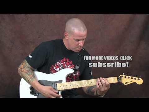 Learn Tom Waits inspired guitar blues pop jazzy chords licks rhythms Ghosts Saturday night style