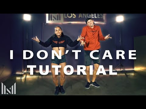 "Ed Sheeran & Justin Bieber - ""I DON'T CARE"" Dance Tutorial 