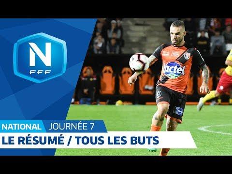 Video Championnat National, 7e journée : tous les buts I FFF 2018 download in MP3, 3GP, MP4, WEBM, AVI, FLV January 2017