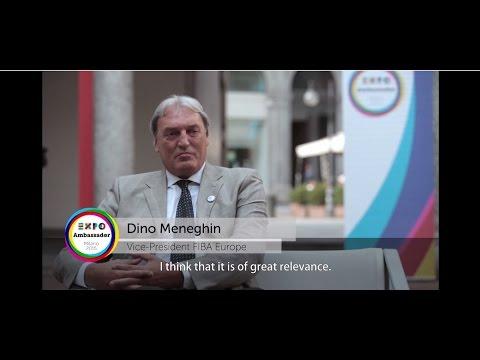 Ambassador Expo Milano 2015 Dino Meneghin eng