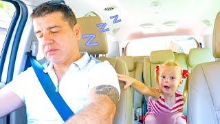 Video Nastya and papa sleeping at farm sheep Family fun trip MP3, 3GP, MP4, WEBM, AVI, FLV Juni 2018