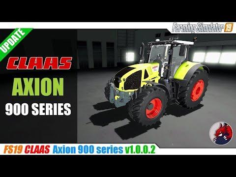 Claas Axion 900 v1.0.0.2