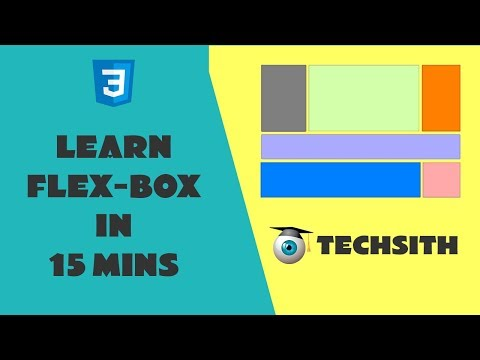 Learn Flex-box Layout In 15 Minutes |  CSS Flex Basics Tutorial