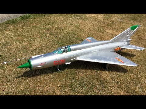 This Freewing MiG-21 80mm EDF Jet...