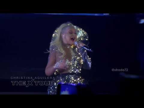"Christina Aguilera ""PERO ME ACUERDO DE TI"" (live @ Guadalajara Mexico) 05/december/2019"