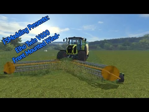 Elho Twin flex 600 Front windrower v2.01