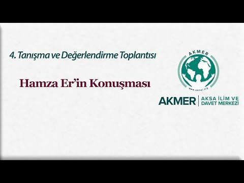 4.Değerlendirme Toplantısı; Hamza Er'in Konuşması
