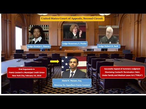 Second Circuit Court of Appeals - Oral Arguments in Coutard v. Municipal Credit Union