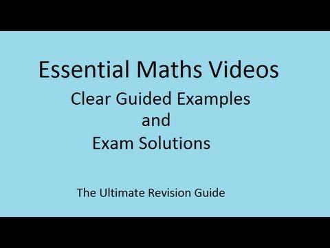 Standard-Formblatt Berechnungen - GCSE Mathematik Revision Video