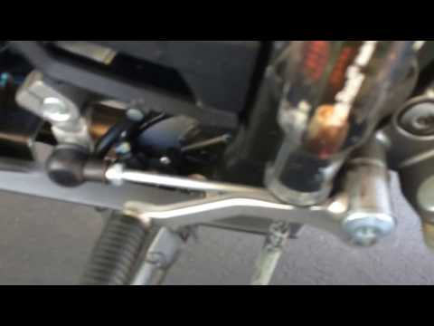 Ninja 300 Bent Gear Shifter- DIY Motorcycle Repair WITHOUT Removing Stuff