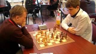 Ruslan Ponomarev --Magnus Carlsen  WCh blitz 2009 chess