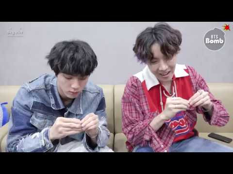 [BANGTAN BOMB] Jin & j-hope Play with Earrings - BTS (방탄소년단)