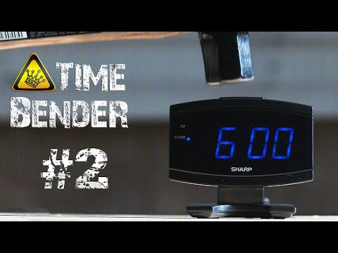 An Alarm Clock Destroyed by a Sledgehammer in Super Slow Motion in Honor of Daylight Saving
