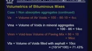 Lecture - 32 Design Of Bituminous Mixes - I