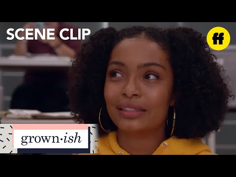 grown-ish | season 1, episode 1: zoey reflects on her college experience | freeform