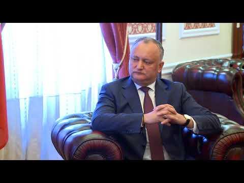 Președintele Igor Dodon a avut o întrevedere cu ambasadorul Republicii Slovace la Chișinău, E.S. Róbert KIRNÁG