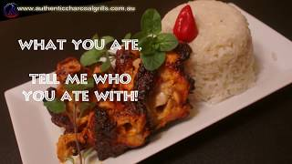 Tandoori Chicken and Sausages