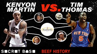 Kenyon Martin's beef with Tim Thomas includes 50 Cent, cash-slapping, and a kid's birthday party by SB Nation
