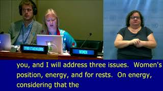 Sascha Gabizon's VNR individual Reviews: Armenia at the HLPF 2018: UN Web TV