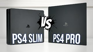 PS4 PRO vs PS4 Slim | Comparison