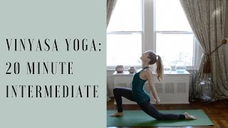 Do Yoga With Me [Intermediate Yoga Video: 20 Minute Vinyasa]