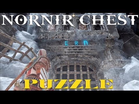 God Of War (Nornir Chest Puzzle - Behind The Lock - Jarl's Stronghold)