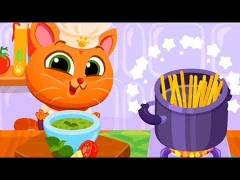 Ресторан Бубу Готовка от шеф повара Bubbu КОТЕНОК БУББУ #1 игровой мультик видео для детей #ИГРУЛЯ