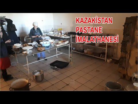 Kazakistan'da Kürek Sapıyla Baklava Yaptım, (MUTFAKTA KUŞLAR VAR) Mikser Berbat
