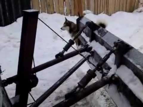 Отвал снегоуборочный своими руками