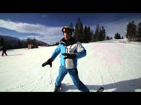 Technika lyžovania: Časť 2 - Prenášanie váhy