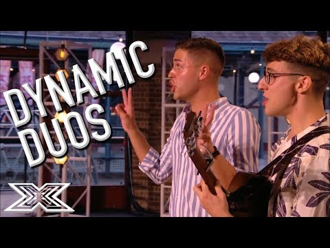 Double Trouble! The Best Dynamic Duo Auditions   X Factor Global