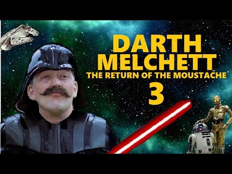 Darth Melchett 3 - The Return of the Moustache - Stephen Fry as Darth Vader